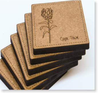 South African Gifts Coasters Range Page